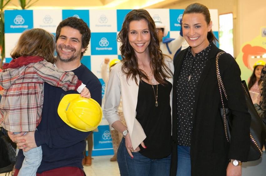 Miguel Costa, Cláudia Borges e Andreia Dinis