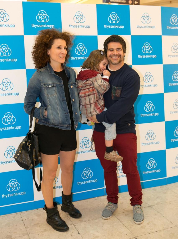 Mafalda Vilhena, Luísa e Miguel Costa