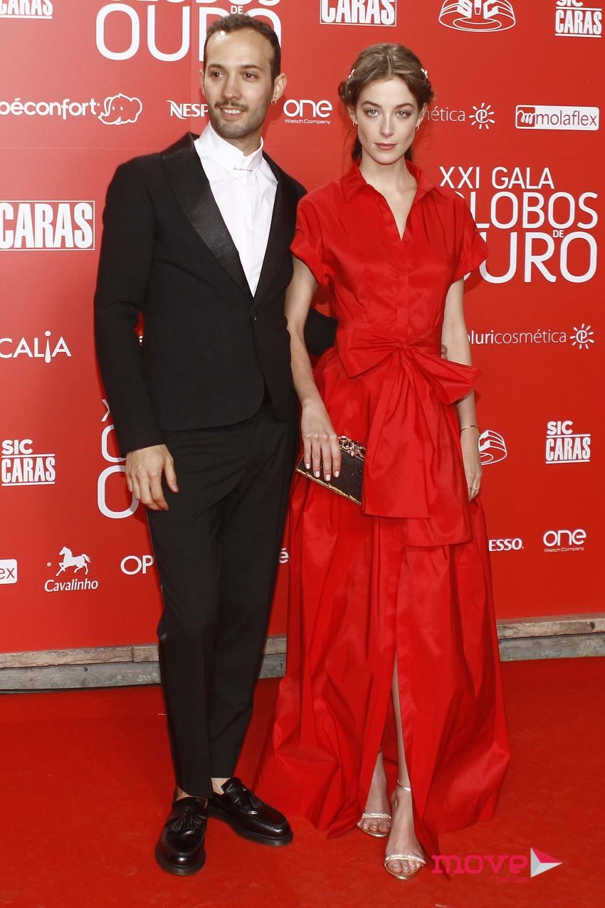 Luís Pissara e Victoria Guerra