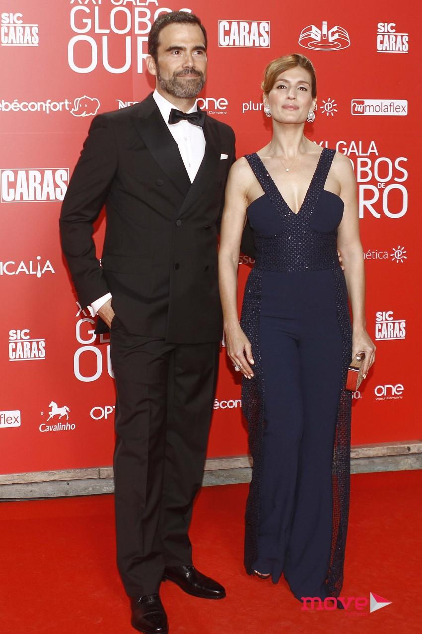 Marco Delgado e Sandra Barata Belo