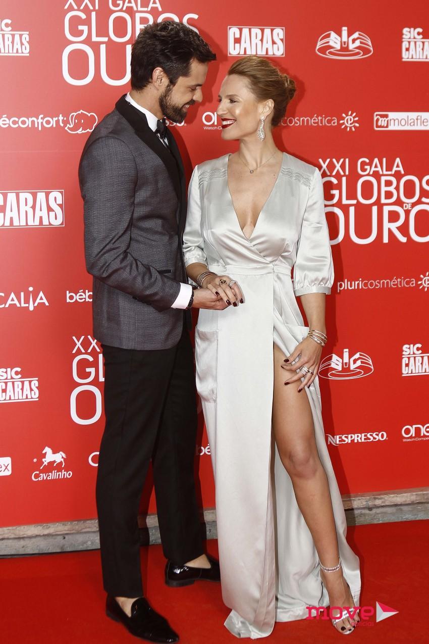Ana Rita Clara e Hugo Madeira