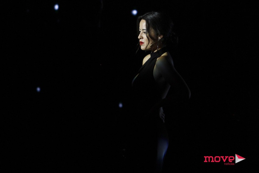 Mariana Pacheco num momento musical