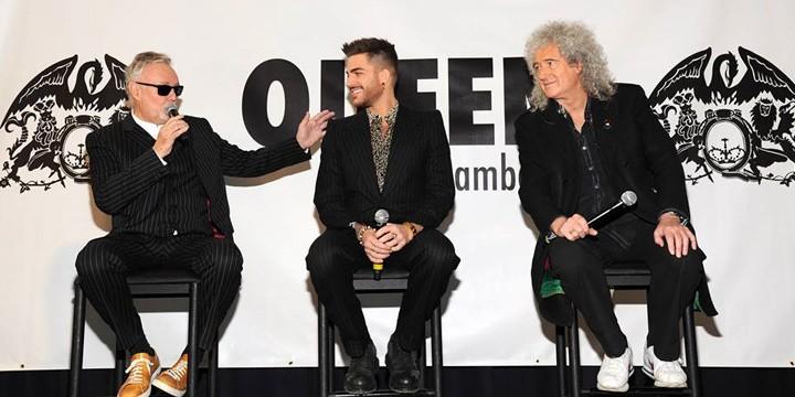 Os Queen + Adam Lambert, que atuam na sexta-feira, dia 20, pediram que lhes fosse servido um jantar completo com muitas sobremesas.