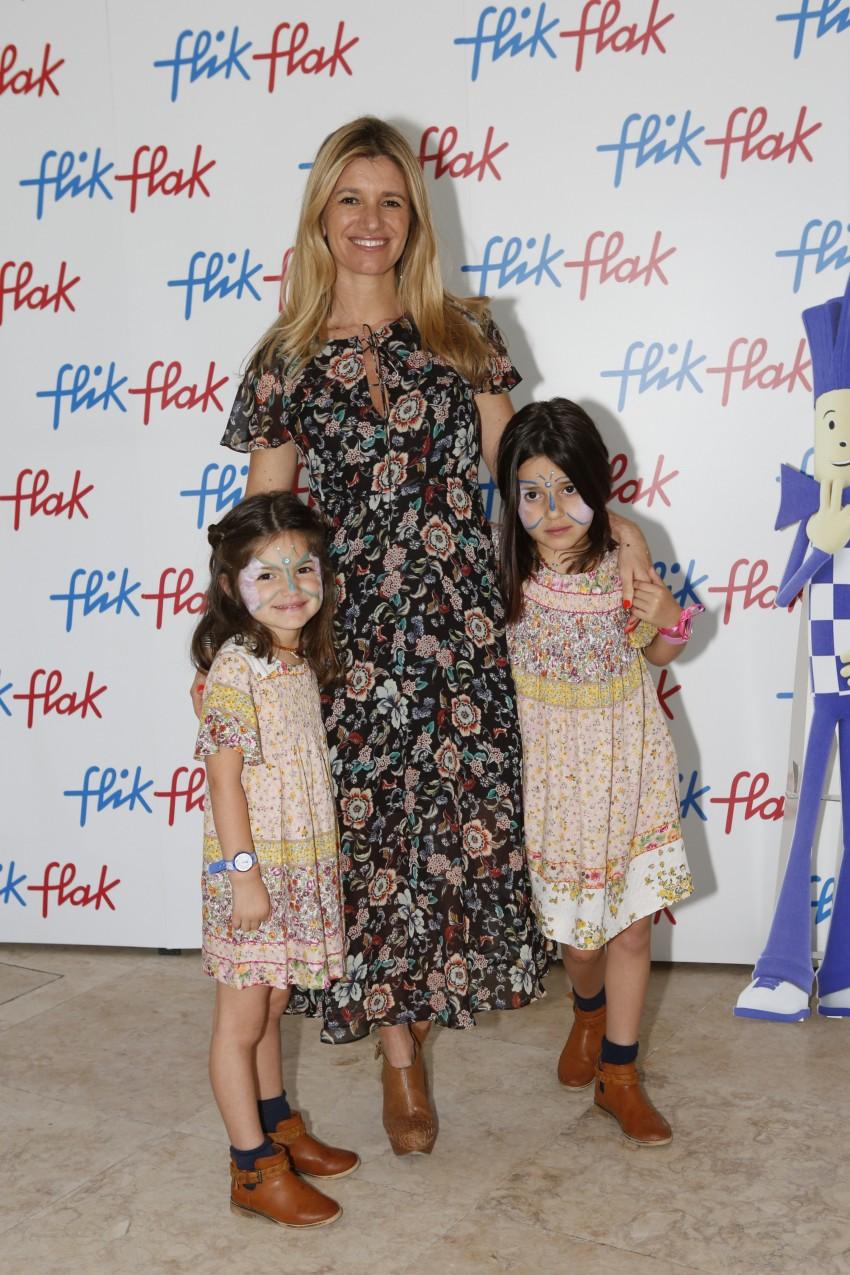Sofia Jardim com as filhas