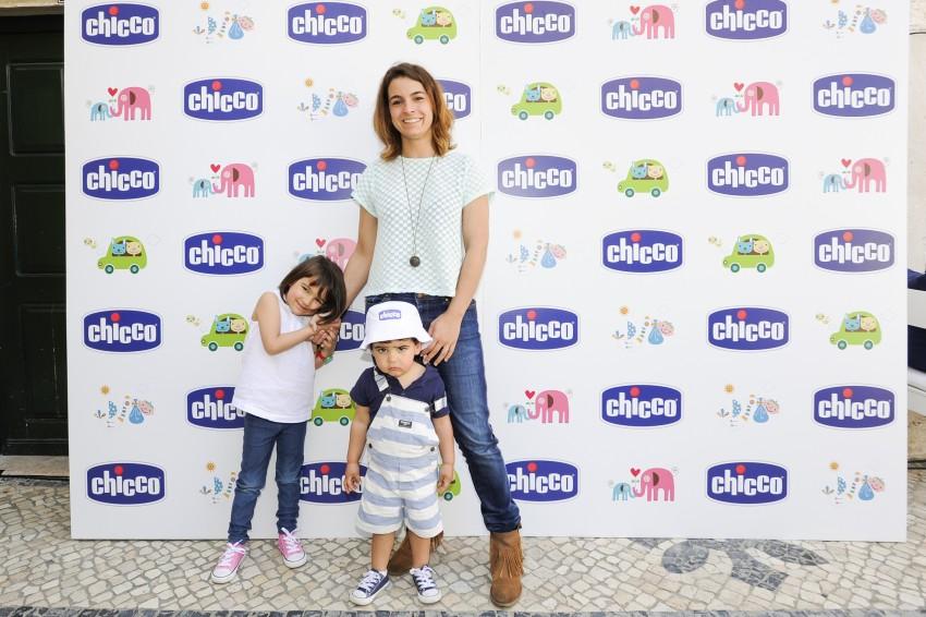 Rita Ruaz com os filhos