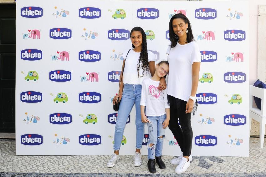 Swailla com Carolina e Madalena