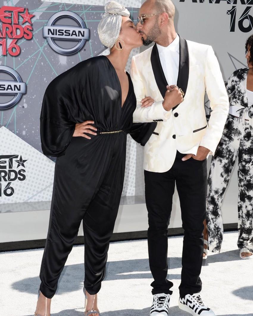 Alicia Keys e Swizz Beaz