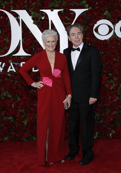 Glenn Close e Andrew Lloyd Webber
