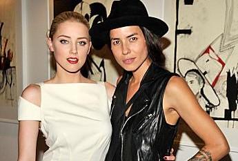 Amber Heard e Tasya van Ree