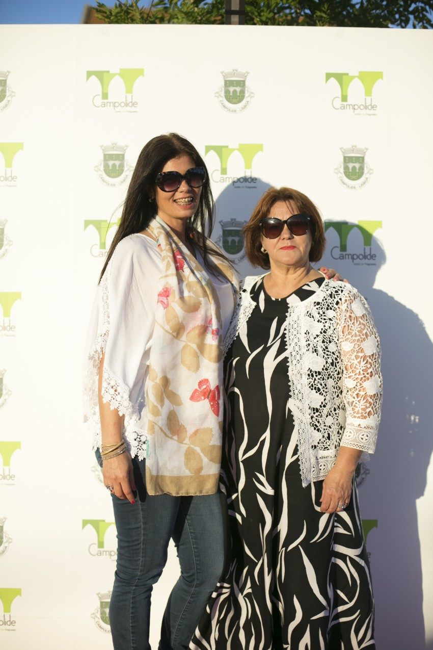 Gisela Serrano e Dona Dilar