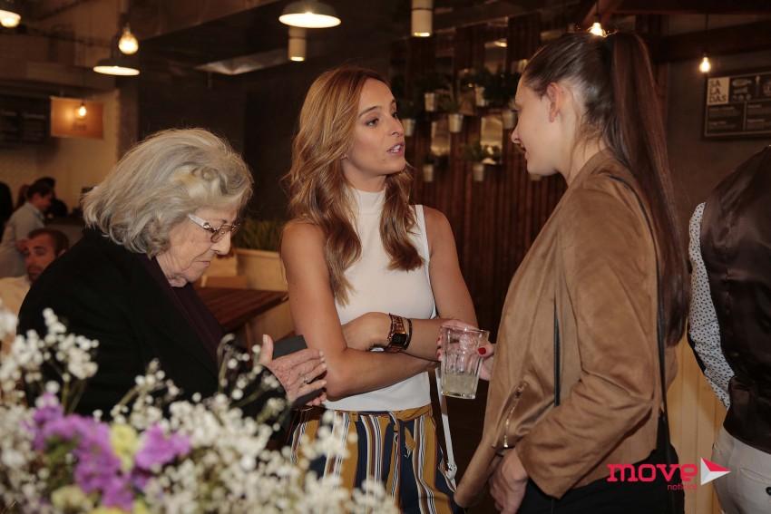 Eunice Muñoz, Lídia Muñoz e Sara Prata