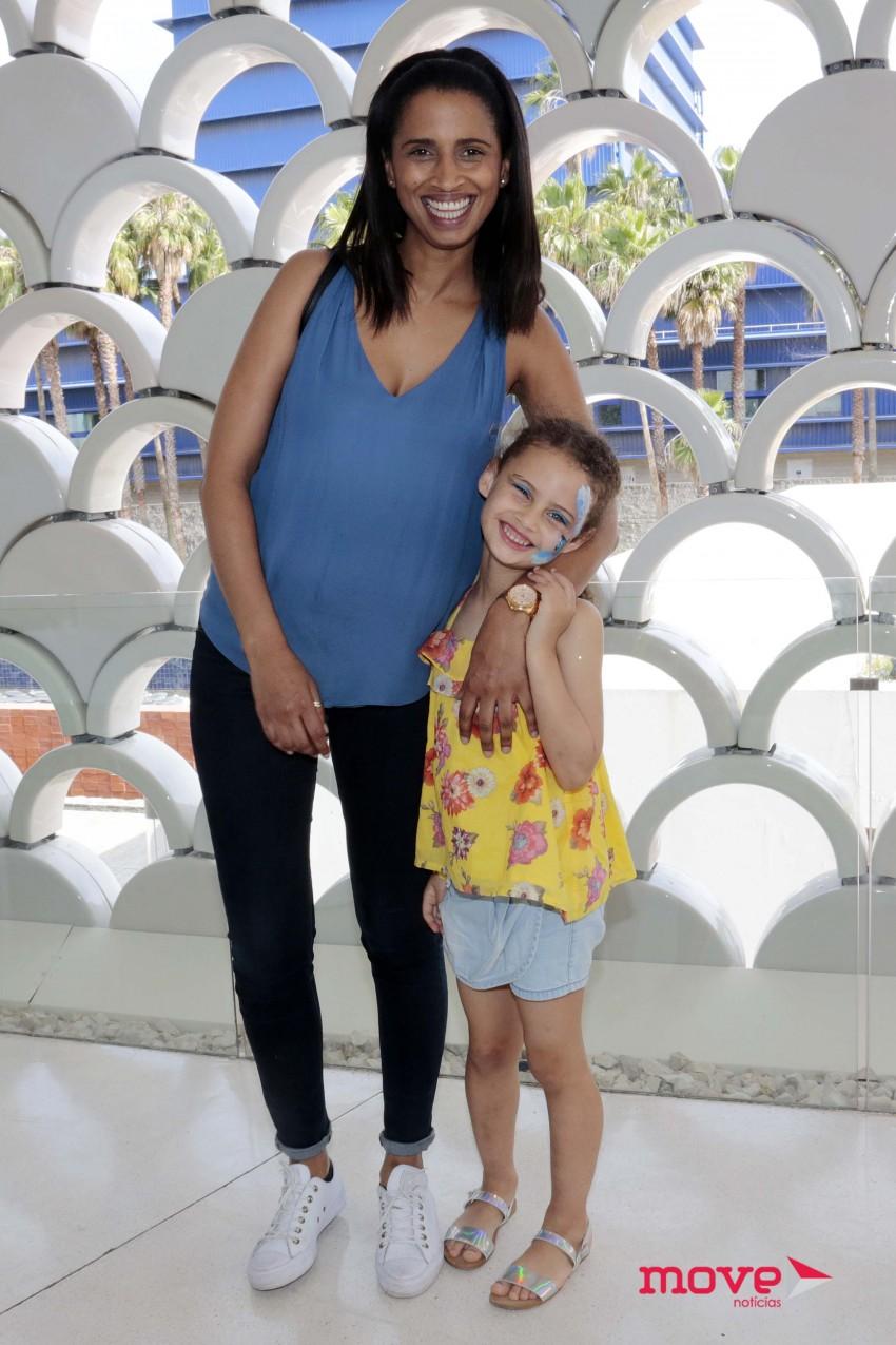 Swailla com a filha Madalena