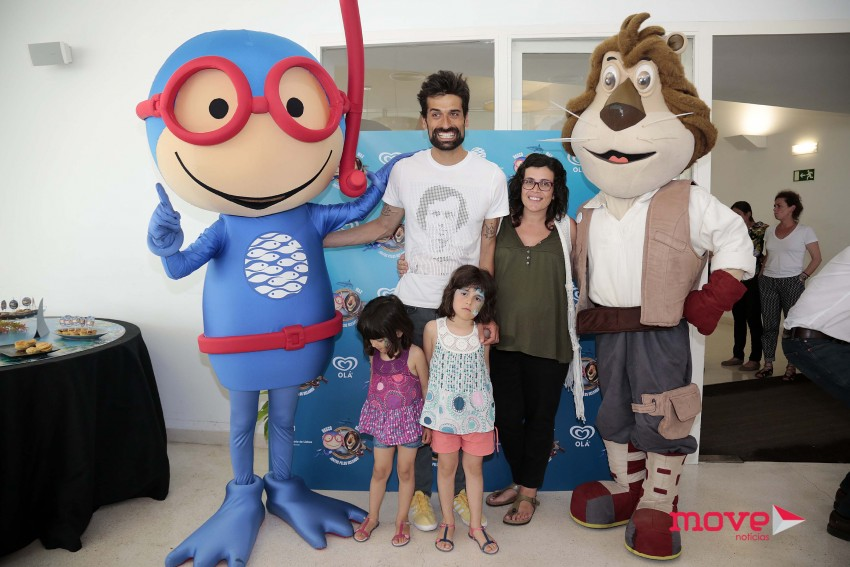 António Raminhos com a família