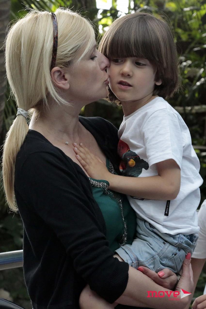 Bárbara Feio com Dinis