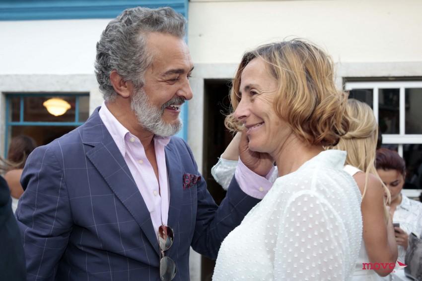 Rogério Samora e Maria João Luís