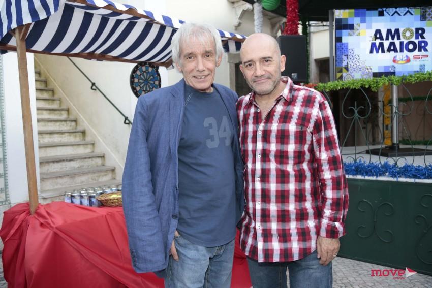 Júlio César e José Raposo