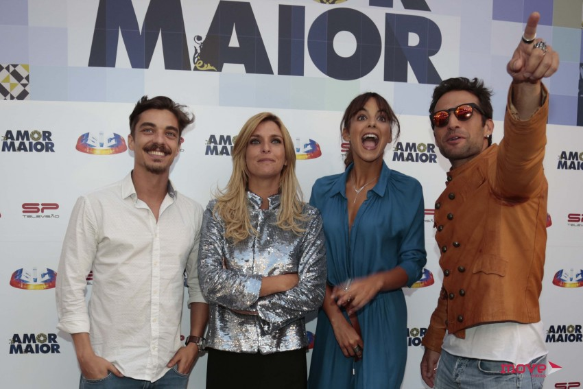 José Mata, Inês Castel-Branco, Sara Mata e José Fidalgo