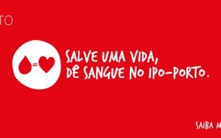 Campanha DádivaSangue_IPO-Porto
