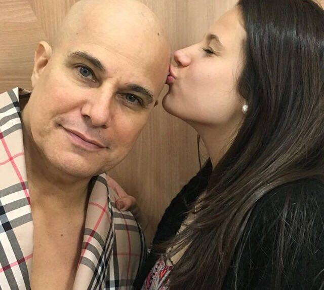 Edson Celulari e a filha Sophia
