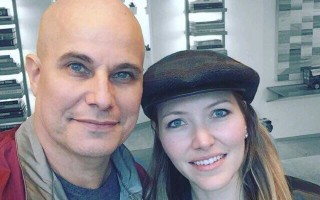 Edson Celulari e a namorada Karin Roepke