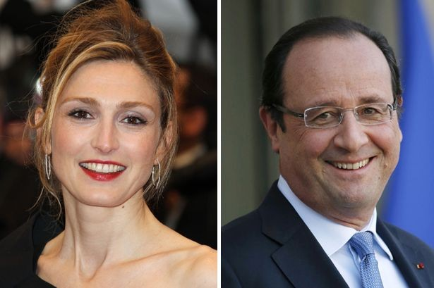 French-actress-Julie-Gayet-and-Francois-Hollande