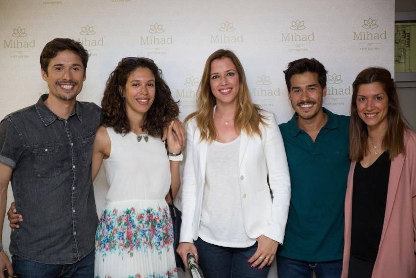 João Paulo Sousa e Adriana, Mariana Alvim, Francisco Garcia e Sofia Sousa Guedes