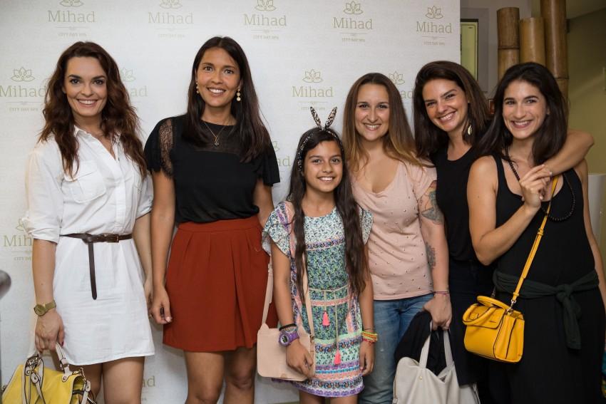Melânia Gomes, Adriana Coutinho, Ana Isabel Arroja, Leonor Seixas e Rita Brutt