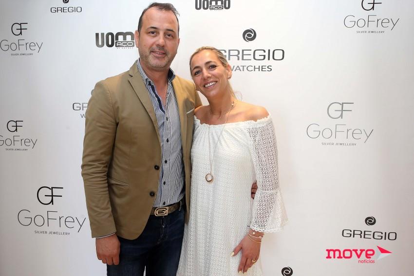 Os proprietários da GoFrey, David Freitas e Paula Gomes