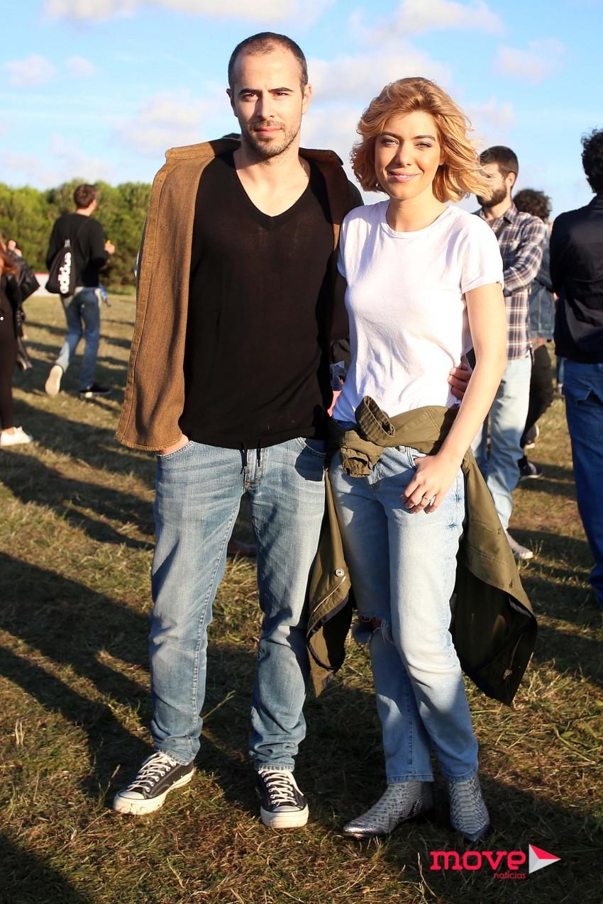 Joaquim Fernandes e Raquel Strada