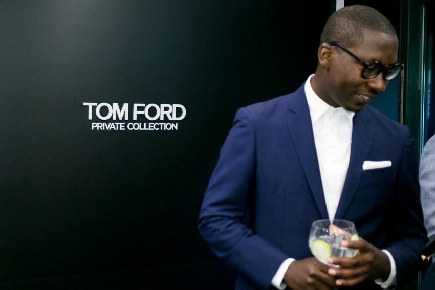 O lançamento da coleção internacional Tom Ford Private Collection, em exclusivo, na André Ópticas da Avenida da Liberdade, Lisboa.