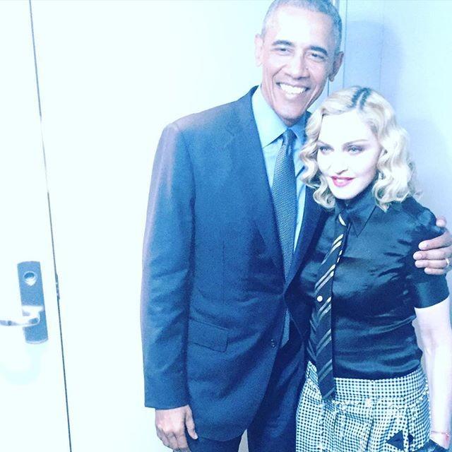 Com o presidente dos EUA, Barack Obama
