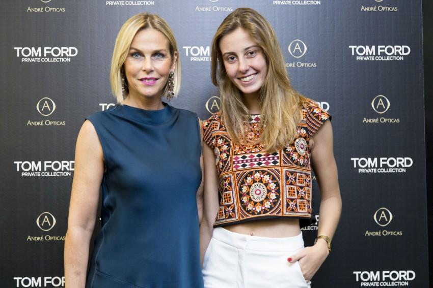 Sofia Carvalho com a filha