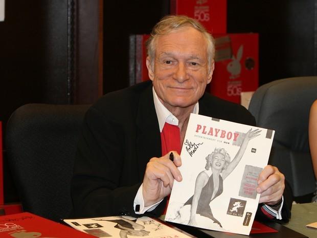 Hugh Hefner, fundador da Playboy