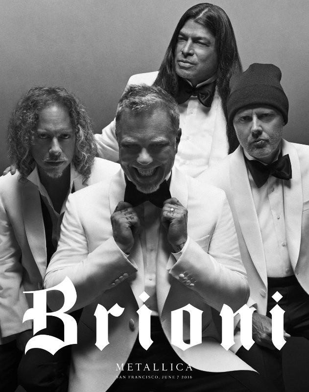 Kirk Hammett, Lars Ulrich, James Hetfield e Robert Trujillo
