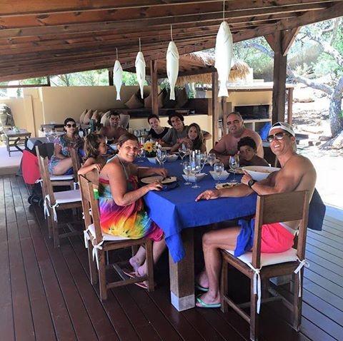 Almoço família do Ronaldo