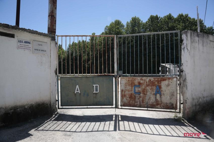 O campo onde Éder jogou vários anos em Coimbra, pertença da Associação Desportiva e Cultural da Adémia