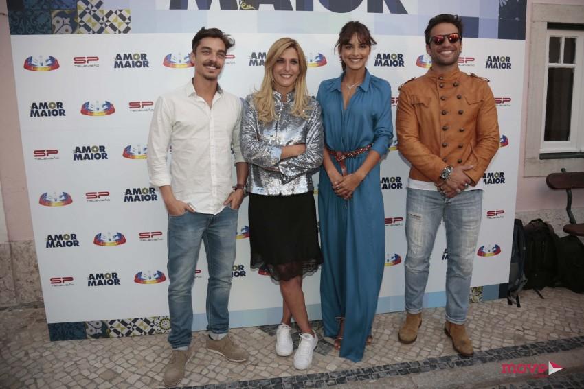 José Mata, Inês Castel Branco, Sara Matos e José Fidalgo