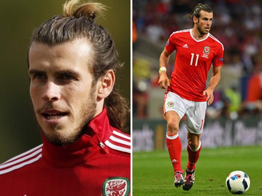 9º - Gareth Bale, 26 anos: Colega de Cristiano no Real Madrid, foi seu adversário no Europeu onde alinhou pelo País de Gales. Tipicamente nórdico, Bale tem, no entanto, fama de 'sorriso fácil'.  Apesar de não ser uma beldade, gostamos do estilo. Tem charme.