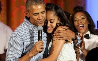 Barack e Malia Obama 2