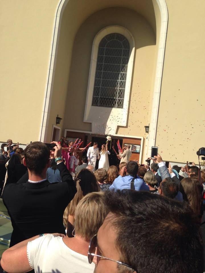 Casamento Adrien Silva e Margarida Neuparth igreja