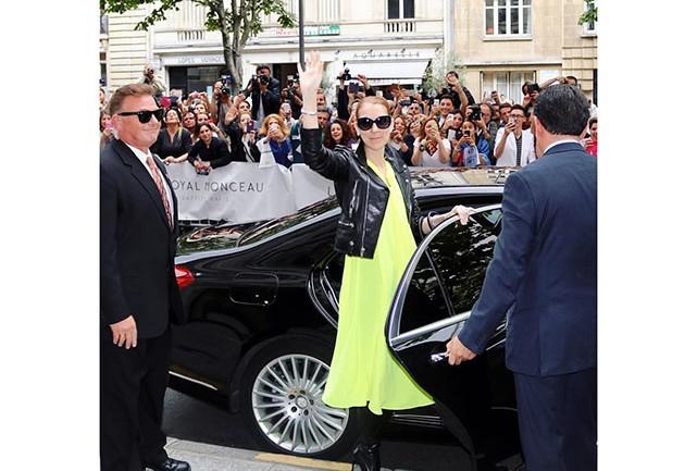 Celine veste Balenciaga