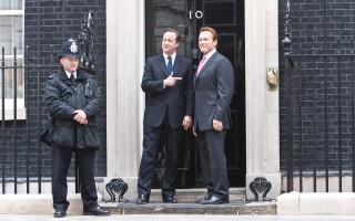 David Cameron e Arnold Schwarzenegger