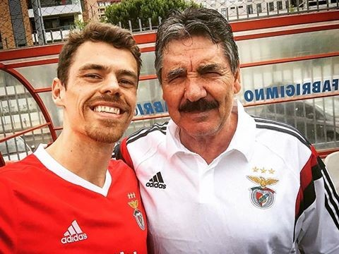 Deejay Kamala e o ex-jogador do Benfica,Toni