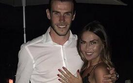 Gareth Bale e Emma com anel