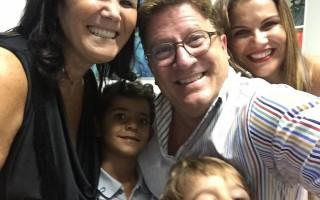 Herman José e família Aveiro