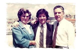 Herman José e pais