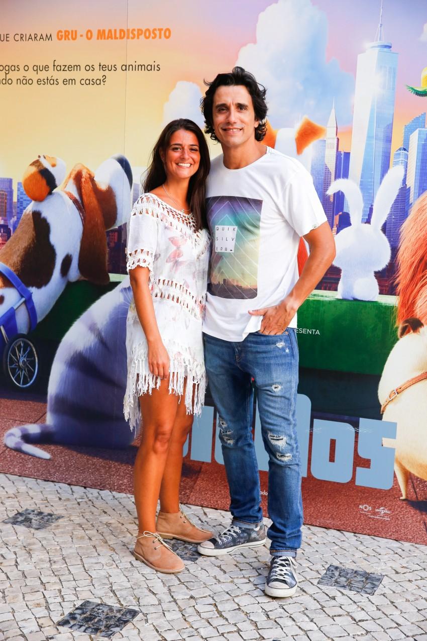 Marco Costa e Denise Nogueira