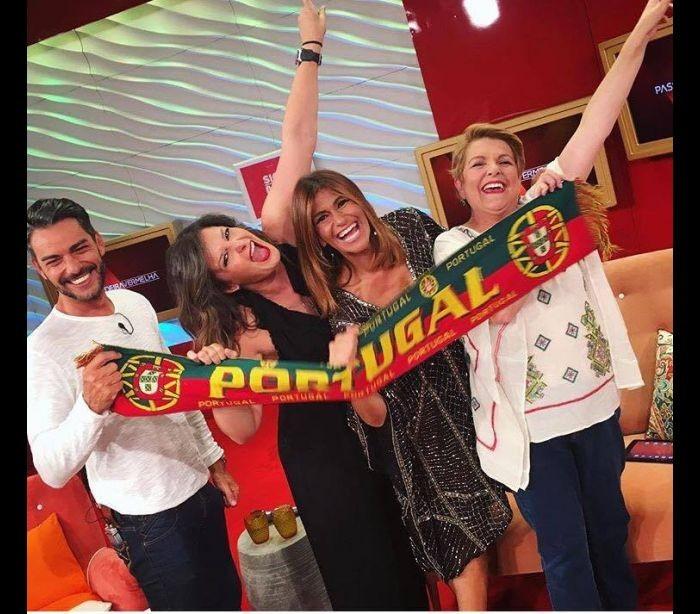 Cláudio Ramos, Maria Botelho Moniz, Liliana Campos e Luisa Castel-Branco
