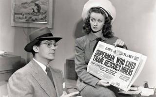Noel Neill e Kirk Alyn, os primeiros Lois Lane e Clark Kent