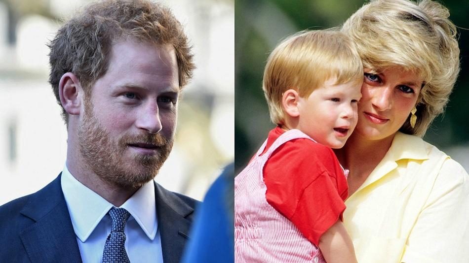 Harry lamenta não ter falado antes sobre a morte da mãe, Diana